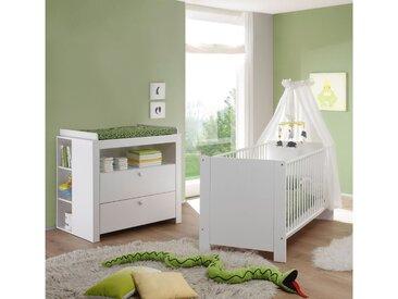 Stylefy Olinda Kinderzimmer-Set Weiß