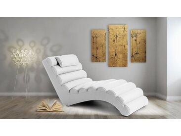 Stylefy RELIKS Liege 75x168x80 cm Weiß