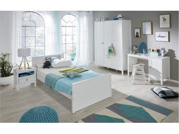 Stylefy Fauro Kinderzimmer-Set Weiß