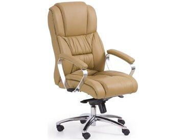 Stylefy Bürostuhl Foster Beige 118÷125x68x54 cm