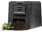 KETER 470L E-Komposter, ohne Bodenplatte, schwarz 17186236