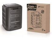 Prosperplast COMPOGREEN Komposter 320L, schwarz IKST320C