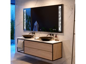 Badspiegel mit LED Beleuchtung L40