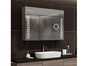 Spiegelschrank mit LED Beleuchtung - L55 Emily
