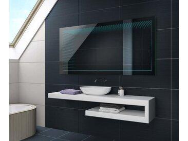 Badspiegel mit LED Beleuchtung LED 3D