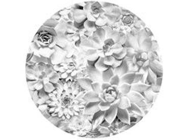 Runde Fototapete, Blumen, Komar