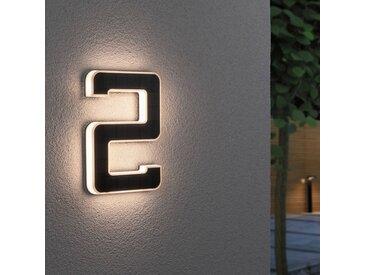 Paulmann LED-Solar-Hausnummer 2