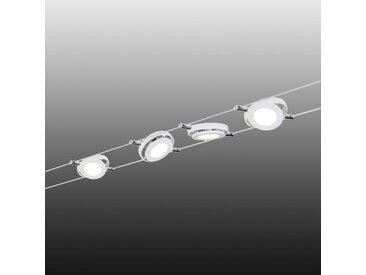 Paulmann RoundMac LED-Seilsystem 4-flammig