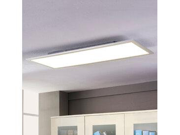 """LED Deckenleuchte (LED Panel) """"Livel"""", u.a. für Küche aus Kunststoff in Weiß von """"Lindby"""" (1 flammig, A+)"""