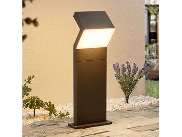 Arcchio Havin LED-Sockelleuchte, dunkelgrau