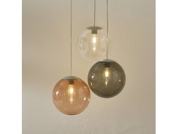 Fatboy LED-Hängelampe Spheremaker3 grau/klar/braun