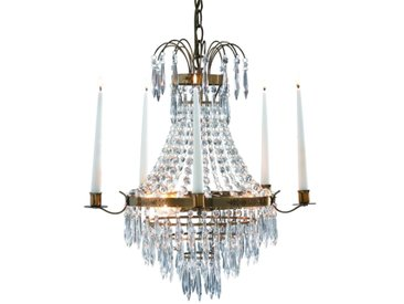 Kronleuchter Krageholm mit Kerzenhalten