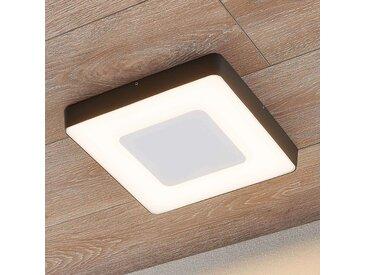 LED-Außendeckenleuchte Sora, eckig, Sensor