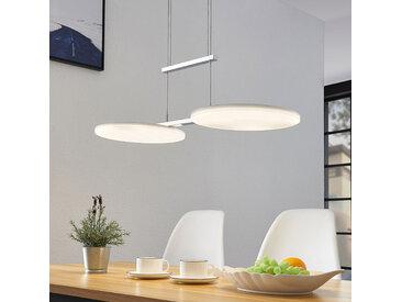 LED-Hängelampe Sherko, höhenverstellbar, 2-flammig