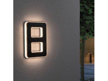 Paulmann LED-Solar-Hausnummer 8