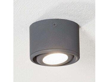 Schwenkbarer Kopf - LED-Downlight Anzio, anthrazit