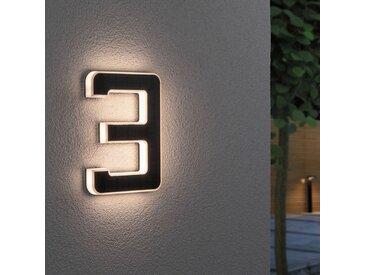 Paulmann LED-Solar-Hausnummer 3