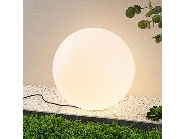 Arcchio Senadin Leuchtkugel, weiß, IP54, 50 cm
