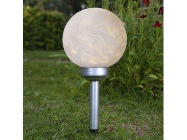 LED-Solarleuchte Lunay, rotierendes Leuchtmittel
