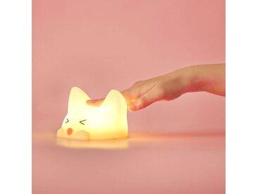 Akku-LED-Nachtlicht Catty Cat, 7 Farben + Sound