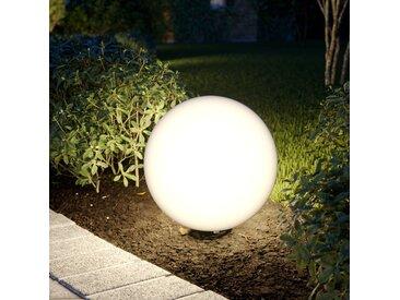 Arcchio Senadin Leuchtkugel, weiß, IP54, 40 cm