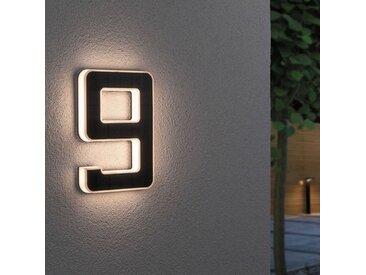 Paulmann LED-Solar-Hausnummer 9