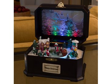 Spieluhr Kinder m. LED-Licht und Musik
