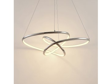 Lucande Fluxus LED-Hängelampe, 3-stufig dimmbar