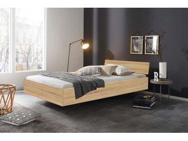 Bett in Eiche-Sonoma Nachbildung, Liegefläche 120 x 200 cm