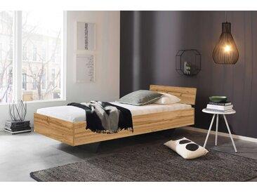 Bett in Eiche Wotan Nachbildung, Liegefläche 90 x 200 cm
