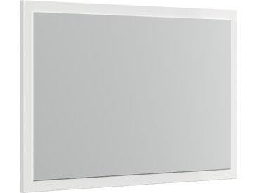 Flurspiegel Modi-M mit Rahmen variabel montierbar Weiss Hgl