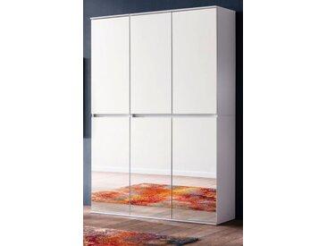 Garderobenschrank Mirror weiß 111 cm