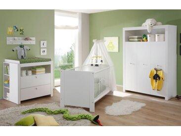 Babyzimmer komplett Set weiß 5-teilig Olivia