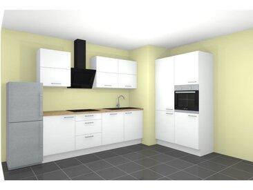 Küchenzeile, Nobilia, inkl. Elektrogeräte RKKÜ4