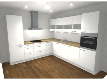 Winkelküche, Nobilia, inkl. Elektrogeräte RKL5