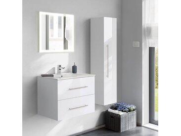 Kwiqq Badmöbel Set 75-3 mit LED Spiegel