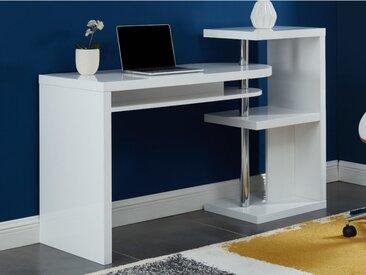Schreibtisch drehbar mit Stauraum SWING - MDF lackiert