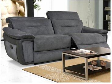 Relaxsofa 3-Sitzer PARUA - Grau