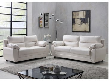 Couchgarnitur 3+2 MANOA - Weiß