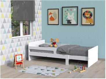 Ausziehbett ZELLY + Lattenrost - ausziehbar 90x140-90x200cm