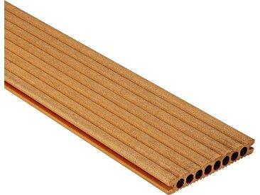 Rettenmeier Outdoor Wood WPC-Terrassendiele hellbraun 200 x 14,5 x 2,1 cm