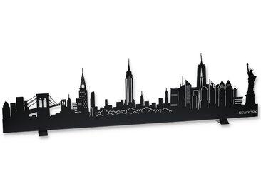 LED-Skyline 'New York' 76 cm schwarz