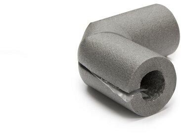 CLIMATUBE® Bogen Rohrisolierung 'Easy' Selbstklebeverschluss, PE, Ø 22 x 25 mm