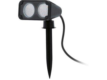 EGLO LED-Außen-Erdspieß 'Nema 1' schwarz 2-flammig