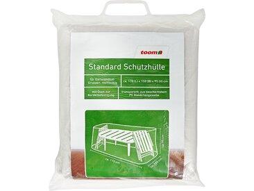toom Standard Schutzhülle für Möbelgruppe PE-Bändchengewebe transparent 170 x 150 x 95 cm