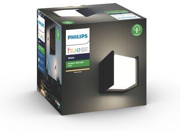 Philips Hue LED-Wandleuchte 'Hue White Fuzo' quadratisch, schwarz 1150 lm, Block