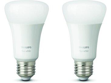 Philips LED-Lampe 'Hue' White E27 Doppelpack 9,5W