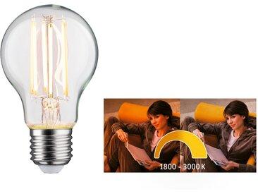 Paulmann LED-Lampe E27 7W (60W) 806 lm goldlicht/warmweiß klar