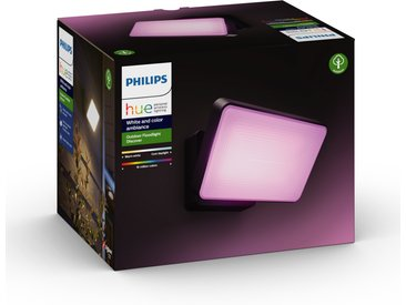Philips Hue LED-Flutlicht 'Hue White & Color Discover' schwarz 2300 lm