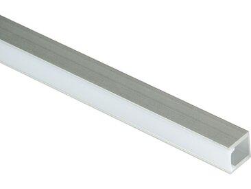 LED-Aluprofil für Sockelleisten mit Diffuser